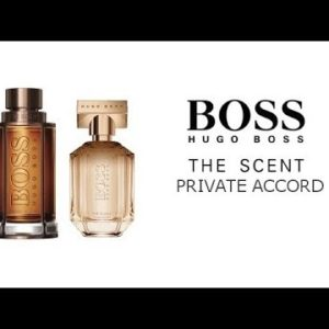 Boss the Scent Private Accord vis