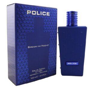 POLICE SHOCK IN SENT MAN