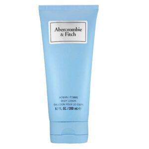 a&f first insinct blue body lotion