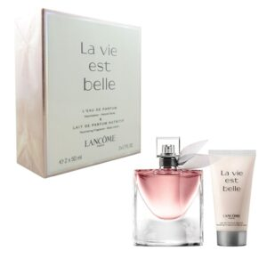 es bell set body lotion